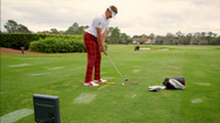 Ian Poulter Using TrackMan